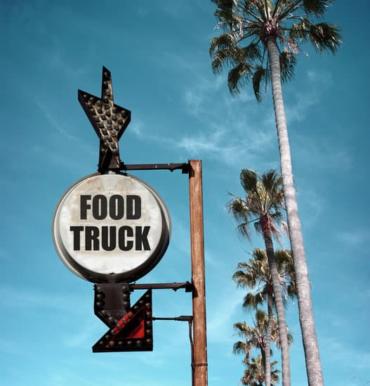 What types of food truck categories can be covered?